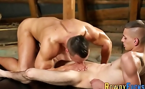 Gay jock gets butt plowed
