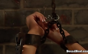 The Education of Adela: Chained Lesbian Slave Begs For Mercy