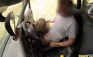Fake Taxi Horny couple hire the taxi for sex