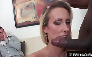 Cuck Watches Wife Joana White Fuck Black Cock