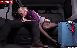 LETSDOEIT - Hot Wife Cheats With Taxi Driver on Christmas Eve