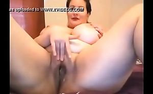 Busty cam model masturbates - more at AngelzLive.com