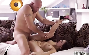 Fat old young gentleman and daddy fuck woman xxx Rough fuck-a-thon for beautiful