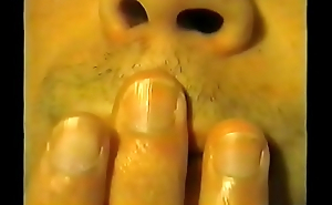 3 - Olivier hand fetish sucking his thumb, licking his fingers and biting his nails hand worhsip compilation 3 (recorded in 2003)