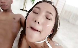Balls Deep May Thai meets Dylan Brown for Balls Deep Anal, ATM, Gapes, Creampie, Messy Cumshot &amp_ swallow GIO863