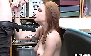 Shoplyfters sweet vagina riding that punishing cock!