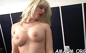 Superb woman facesitting comrade-in-arms in home porn episode scene